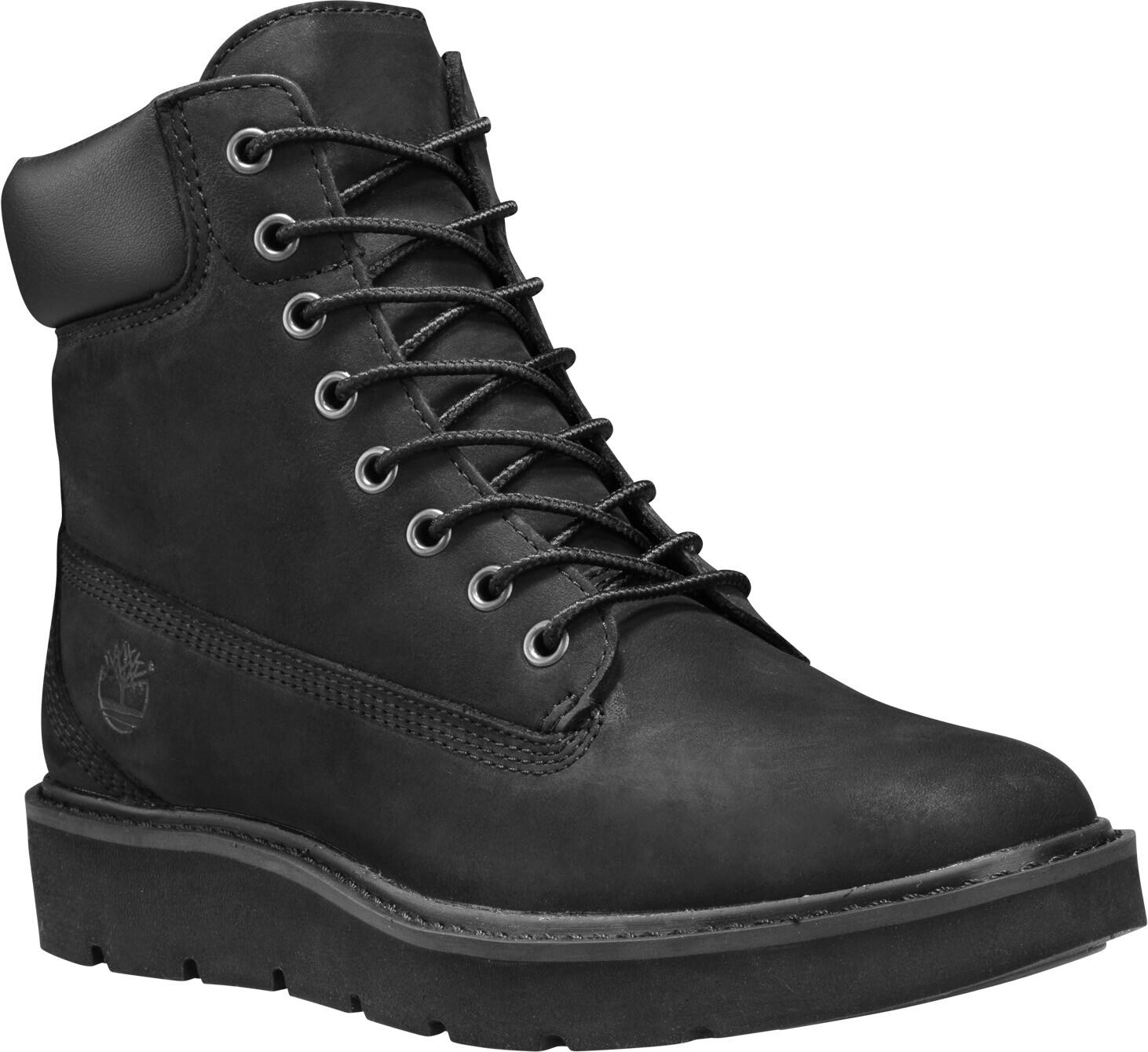 Timberland Kenniston Lace Up Boots 6 Damen Black Nubuck